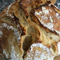 Como fazer pão de fermento natural (Levain)